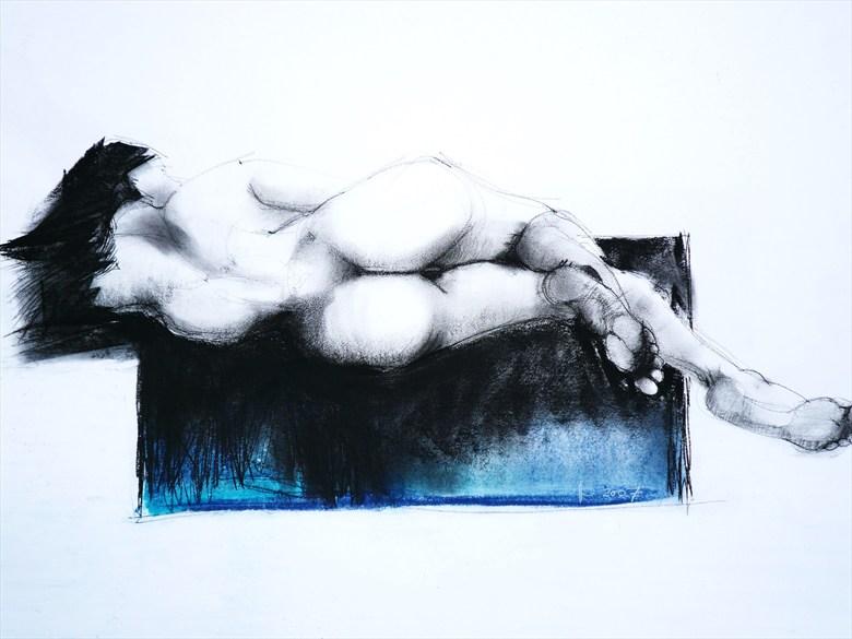 Couples Figure Study Artwork by Artist lifefigureart