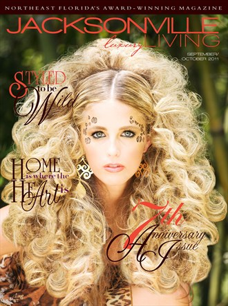 Cover   Jacksonville Luxury Living Magazine Glamour Photo by Photographer Mario Peralta Photography