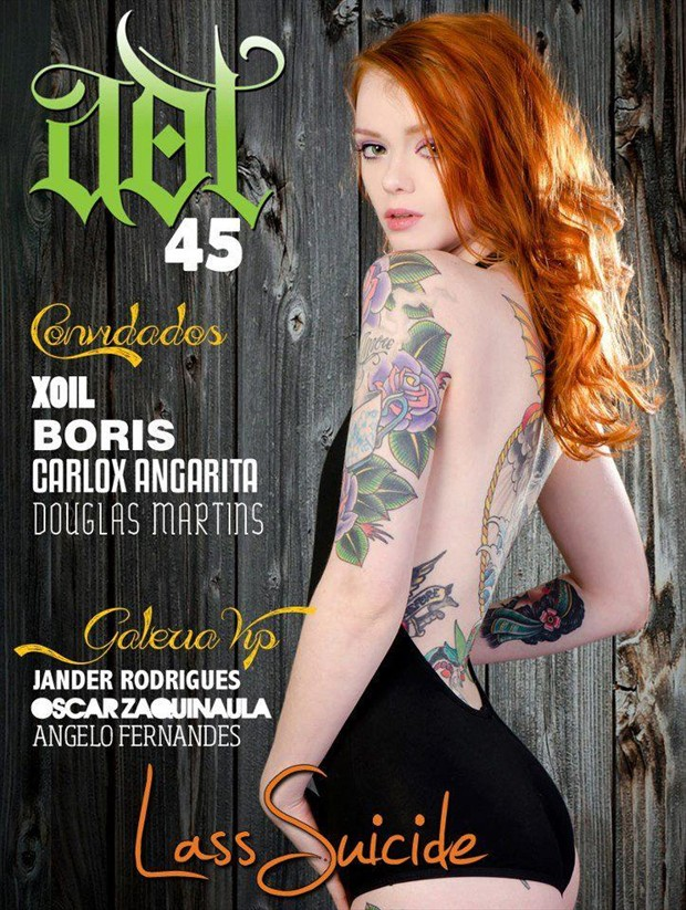Cover for ADT issue 45 Tattoos Photo by Photographer Luca Kronos Cassar%C3%A0