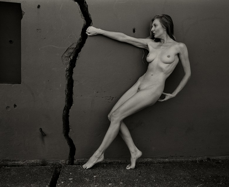 Crack Artistic Nude Artwork by Photographer Christopher Ryan