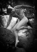 Craig Brown Artistic Nude Photo by Artist April Alston McKay