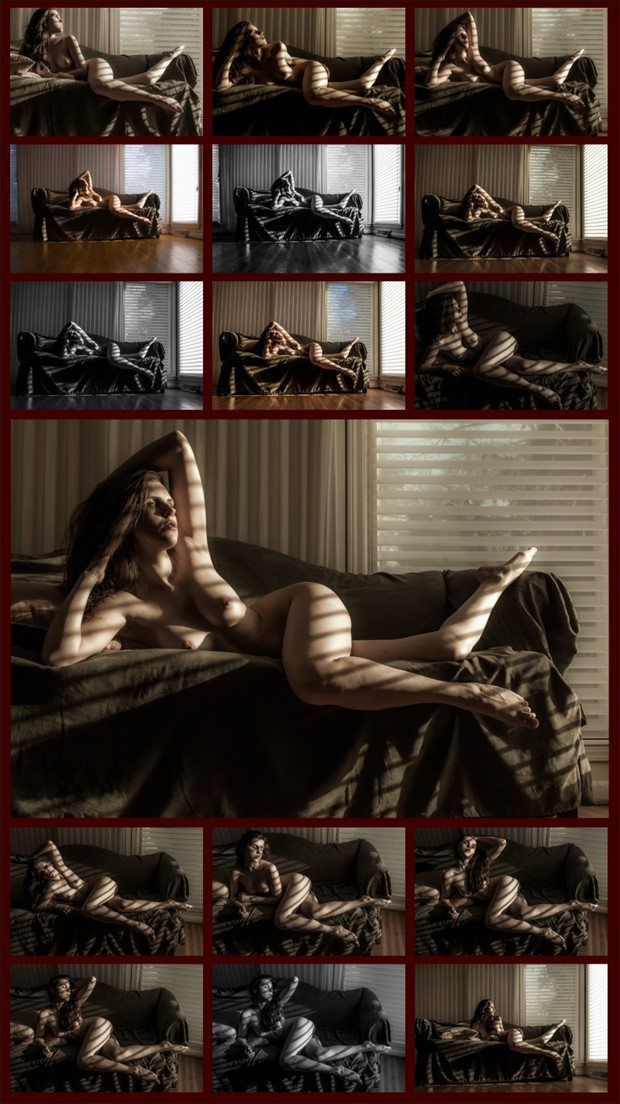 Creating Natural Light Artistic Nude Photo by Photographer Beau