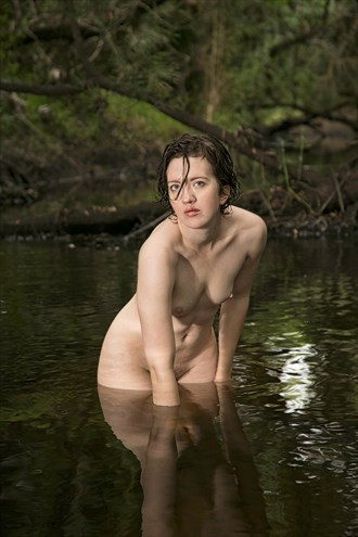 Creek Nude Artistic Nude Artwork by Photographer Chris Gursky