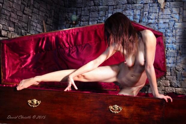 Crib  Artistic Nude Artwork by Model Diana Revo