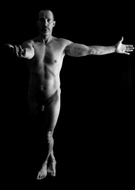Cross Artistic Nude Photo by Model Ben