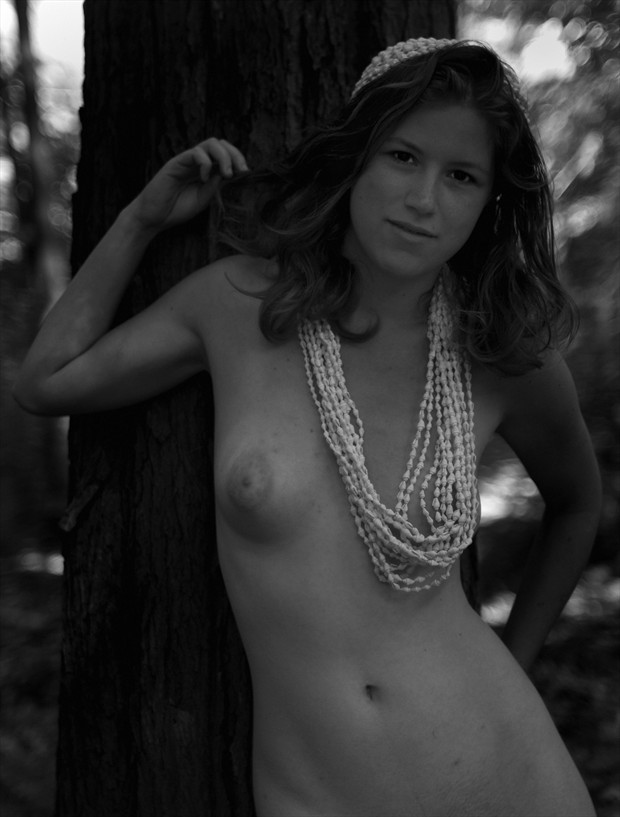 Crowned Artistic Nude Photo by Model Arshae Morningstar