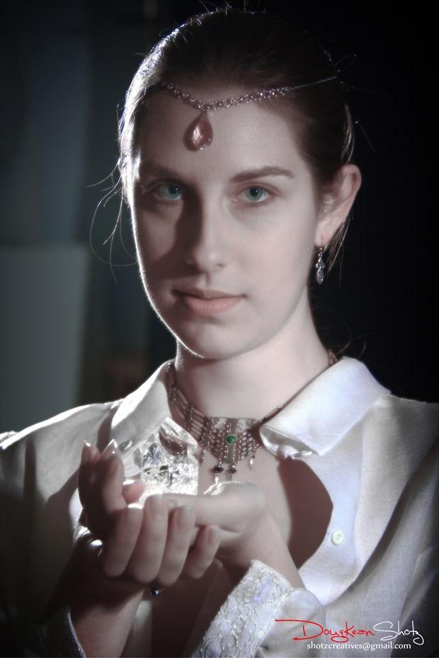 Crystal Goddess Fantasy Photo by Model Aleja Na S%C3%ACtheige