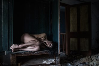 Cupboard Artistic Nude Photo by Photographer Kestrel