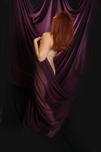 Curtain Call Artistic Nude Photo by Model JR Photography