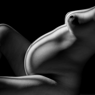 Curved Artistic Nude Photo by Photographer Craig Stocks Arts