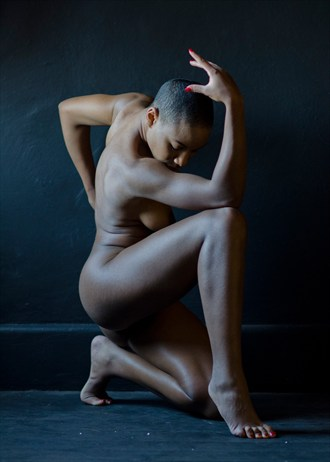 Curves and Angles  Artistic Nude Photo by Model AGNOSIA