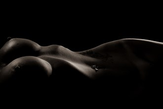 Curves of the Female Form Artistic Nude Artwork by Model Phoenix Starr