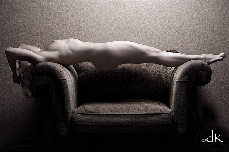 Cushion Artistic Nude Photo by Photographer dennis keim