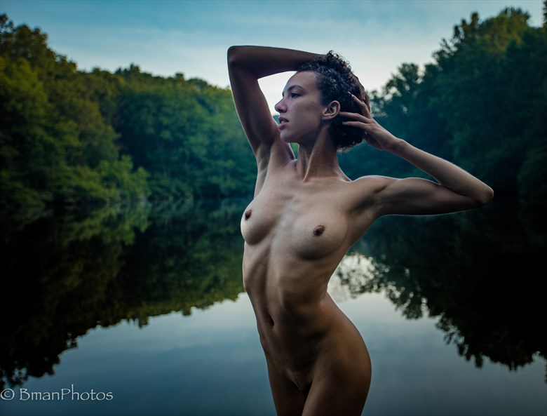 Cwen Artistic Nude Photo by Photographer BmanPhotos