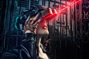 Cyberpunk Cyclop Fantasy Artwork by Photographer Paolo Montalbano