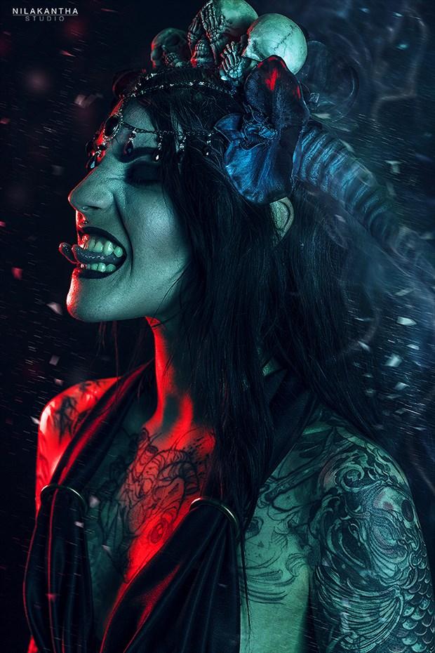 D%C3%A9mon XXII Tattoos Artwork by Photographer Nilakantha