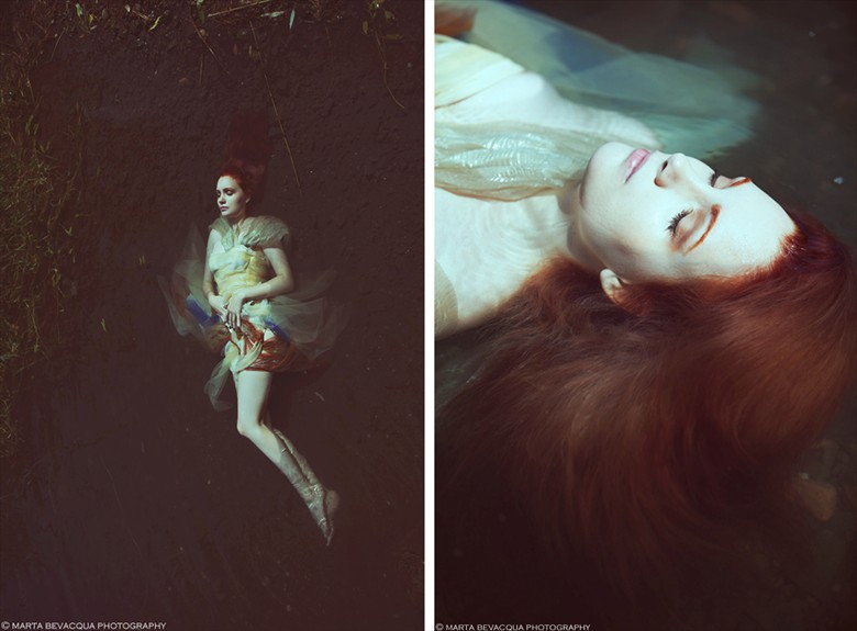 DISAPPEAR Surreal Photo by Model BloodyBetty