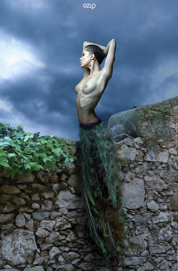 DIVINE NATURE Artistic Nude Artwork by Artist GonZaLo Villar