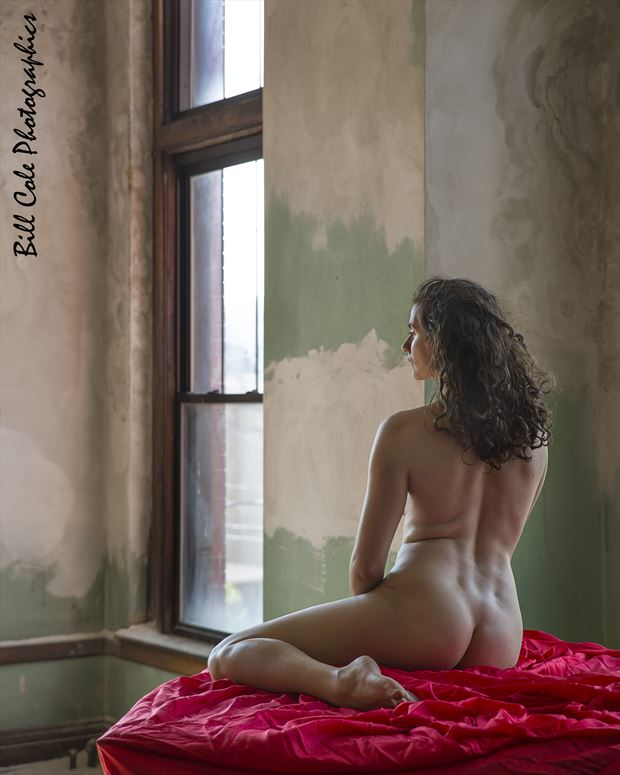 Daisy in Red Artistic Nude Photo by Photographer billcole