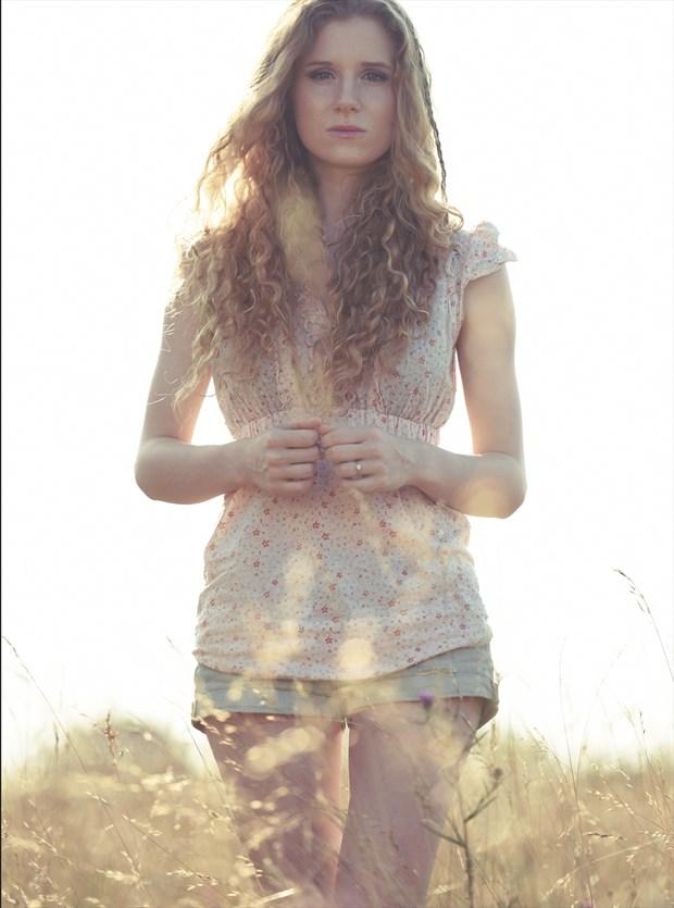 Dan Rowley Portrait Photo by Model Jen Somerfield