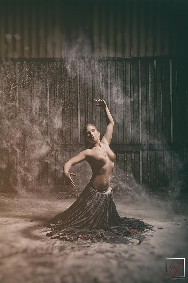 Dance & Dust Abstract Artwork by Photographer Omega Photography