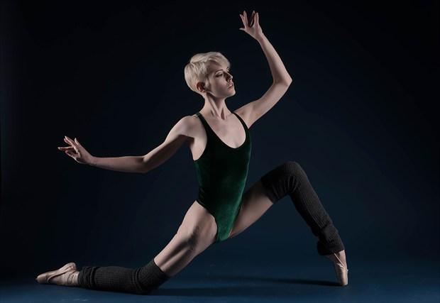 Dance Emotional Photo by Model Adrien Michaels