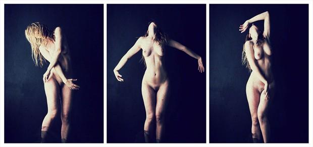 Dance Noir Artistic Nude Artwork by Model RomiMuse