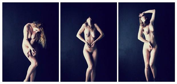 Dance Noir Emotional Artwork by Model RomiMuse