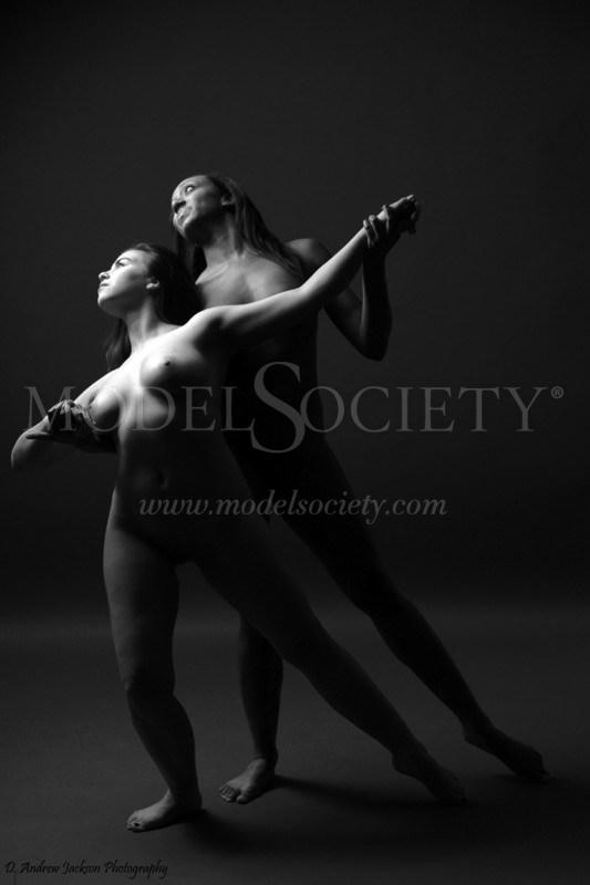 Dance With Me Artistic Nude Photo by Model Charlotte Dell'Acqua