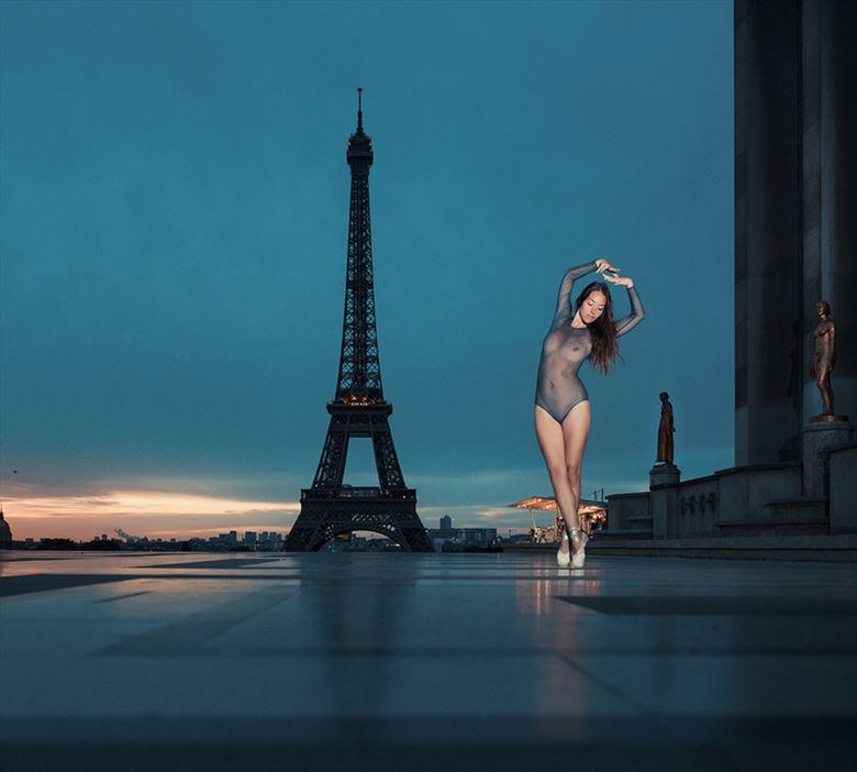 Dance in Paris Fashion Photo by Model Mod%C3%A8le Christelle