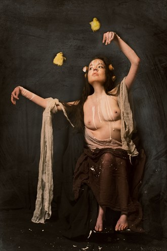 Dance of the Hatchling (OVULATION series) Artistic Nude Photo by Model Jocelyn Woods