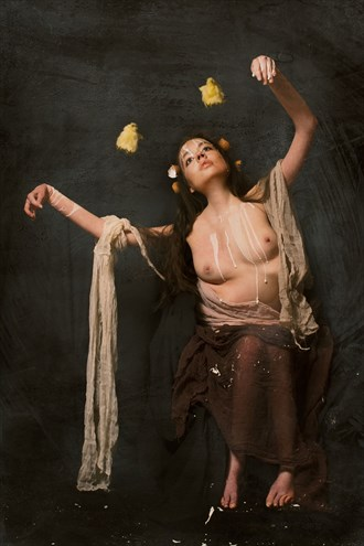 Dance of the Hatchling from OVULATION series Artistic Nude Photo by Model Jocelyn Woods