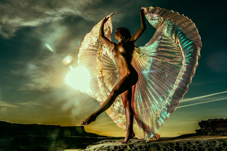 Dance of the Valkyrie Artistic Nude Photo by Photographer Stephen Wong