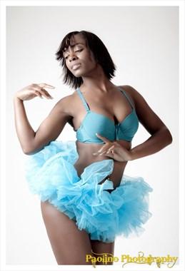 Dancer Portrait Photo by Model Britney Siren