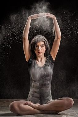 Dancer Studio Lighting Photo by Model Lark Farlee