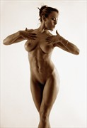 Dancing into the light Artistic Nude Photo by Model Ceara Blu