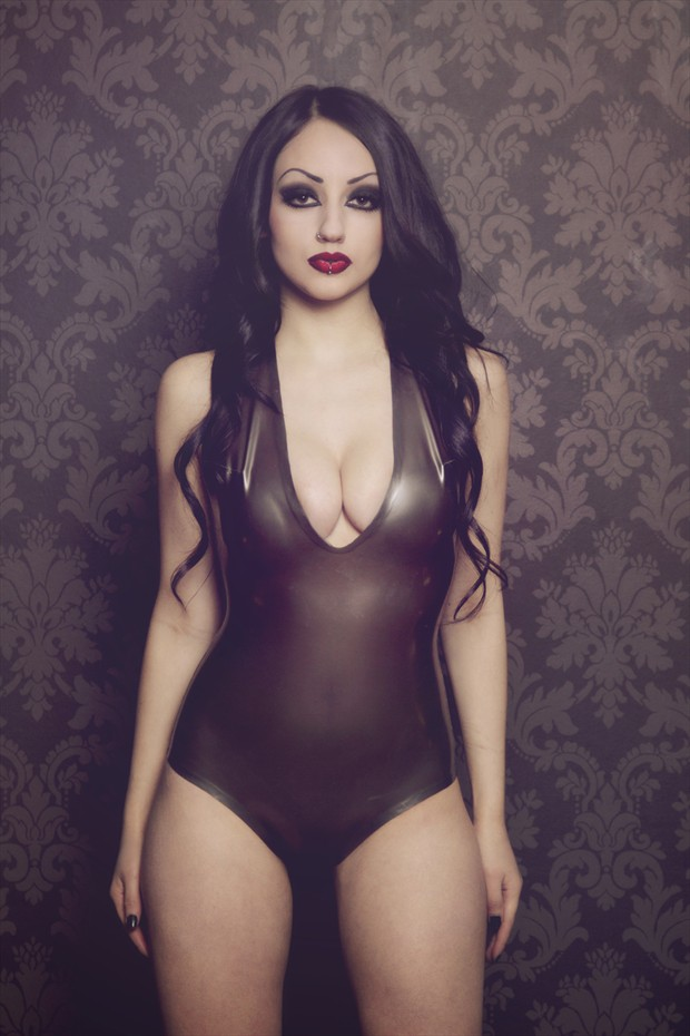 Dani Divine Lingerie Photo by Photographer Into Darkness