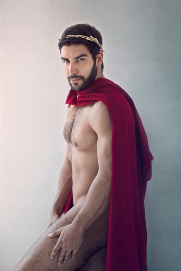 Daniel Gavrilov as ancient Greek Artistic Nude Photo by Photographer Andreas Constantinou