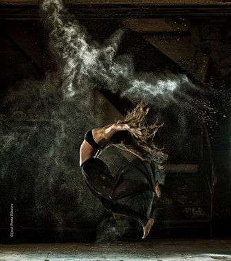 Daniela Macario, MadStunts Studio Lighting Photo by Photographer JosePR