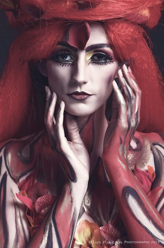 Danielle Expressive Portrait Photo by Photographer iainhamiltonphotography