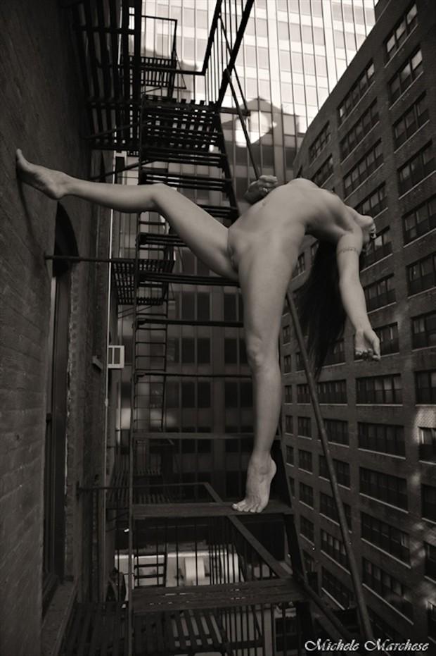 Daredevil Artistic Nude Artwork by Model Ree Ja