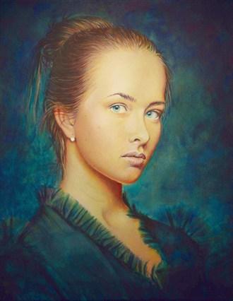 Daria Portrait Artwork by Artist theNatureArtist