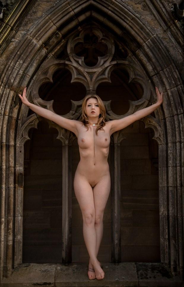 Dark Angel Artistic Nude Photo by Photographer Calandra Images