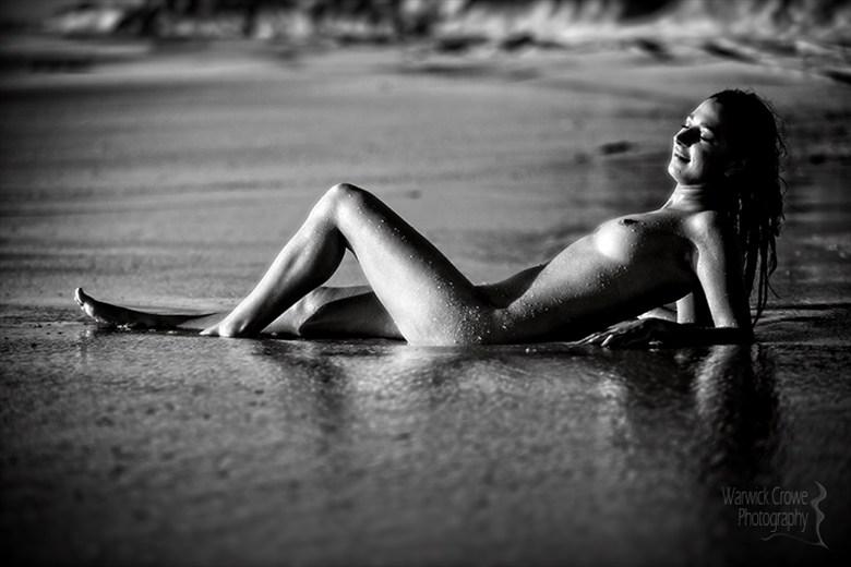 Dark Beach Artistic Nude Photo by Photographer Incidental Pixel