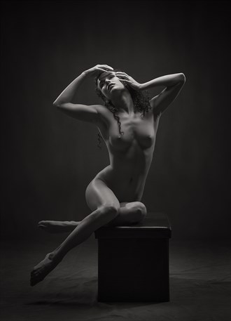 Dark Beauty Artistic Nude Photo by Photographer Rossomck