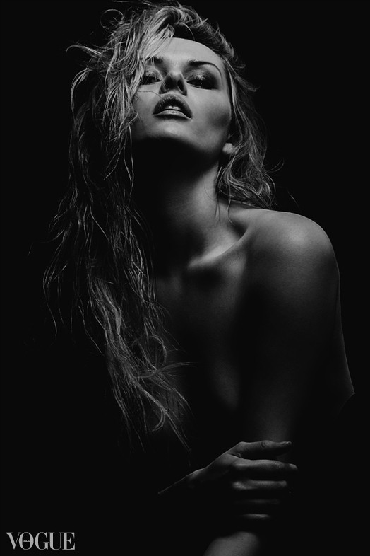 Dark Close Up Photo by Model Carla Monaco
