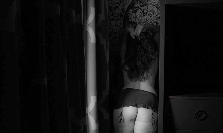 Dark Corners Artistic Nude Photo by Photographer Mrs. S