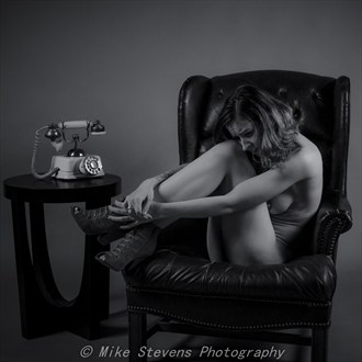 Dark Emotions Artistic Nude Photo by Photographer Mike Stevens