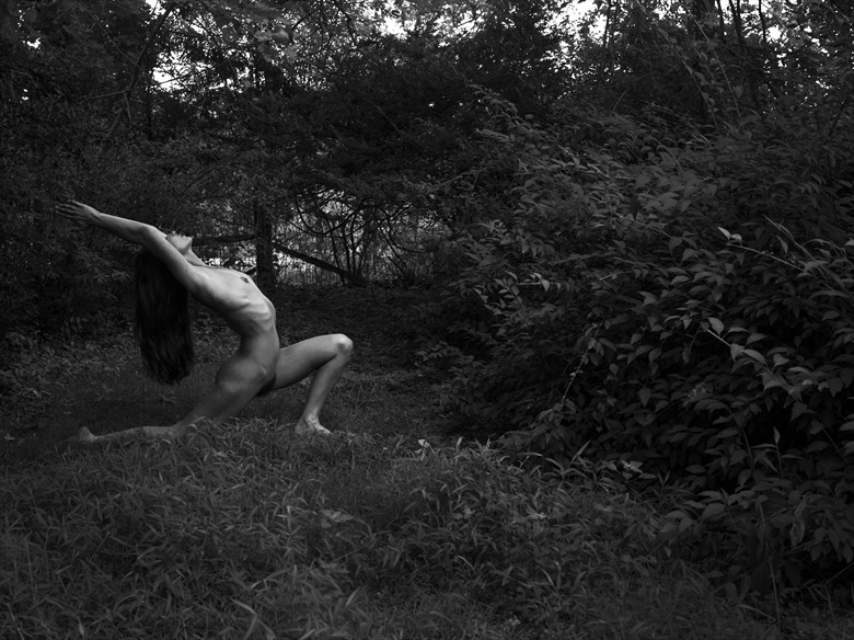 Dark Forest Artistic Nude Photo by Photographer GF Morgan