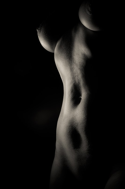 Dark Loght 2 Artistic Nude Photo by Photographer Redwolf